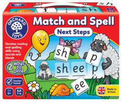 Orchard Toys Match and Spell Next Steps (Game)