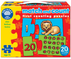 Orchard Toys Match & Count (Puzzle)