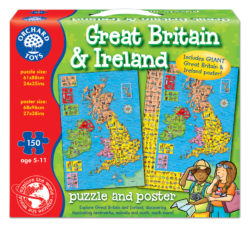 Orchard Toys Great Britain & Ireland Map (Puzzle)