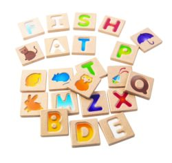 Plan Toys Alphabet A-Z (Gradient)