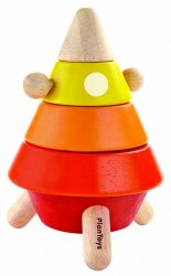 Plan Toys Cone Sorting & Stacking Rocket