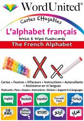 The French Alphabet - Write & Wipe (Flashcard kit)