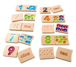Plan Toys Numbers 1-10 (Gradient)