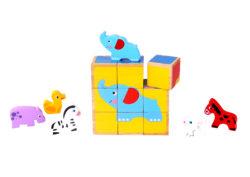 Beehive Toys Animal Block Puzzle