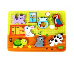 Beehive Toys Chunky Pet Puzzle