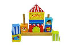 Beehive Toys Stacking Circus Blocks