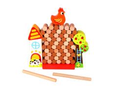 Beehive Toys Jenga Chicken Farm