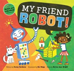 My Friend Robot (Book + CD)