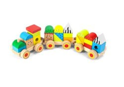 Beehive Toys Stacking Train