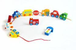 Beehive Toys Transport Lacing & Threading Blocks