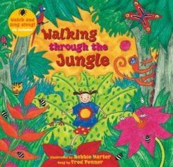 Walking Through the Jungle (Book + CD)