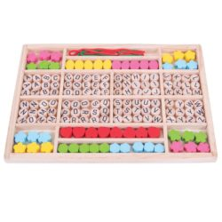 Bigjigs Wooden Alphabet Bead Tray