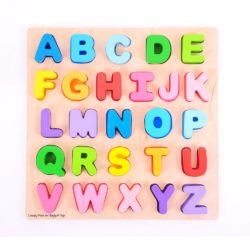 Bigjigs Chunky Alphabet Puzzle - Uppercase
