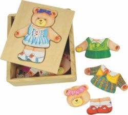 Bigjigs Dress Up - Mrs Bear