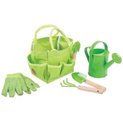 Bigjigs Gardening Tools and Bag