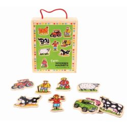 Bigjigs Toys Wooden Farm Magnets