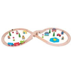 Bigjigs Figure of Eight Train Set