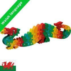 Lanka Kade Welsh Dragon a-y Alphabet Jigsaw
