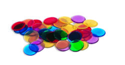 Learning Resources Transparent Counters (6 Colours - 250 Counting Pieces)