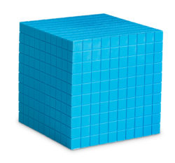 Learning Resources Grooved Plastic Base Ten Cube