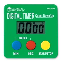 Learning Resources Digital Stopwatch Timer Count Down/Up