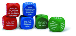 Learning Resources Reading Comprehension Cubes