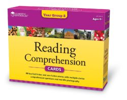 Learning Resources Reading Comprehension Cards - Year Group 2