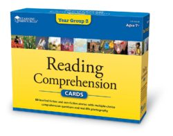 Learning Resources Reading Comprehension Cards - Year Group 3