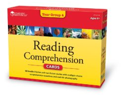 Learning Resources Reading Comprehension Cards - Year Group 4