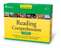 Learning Resources Reading Comprehension Cards - Year Group 5