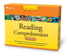 Learning Resources Reading Comprehension Cards - Year Group 6