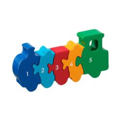 Lanka Kade Fair Trade Train 1-5 Number Jigsaw Puzzle (Early Numeracy Jigsaw)