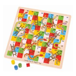 Bigjigs Classic Snakes and Ladders
