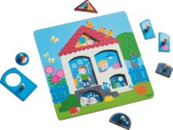 HABA Clutching Puzzle - House