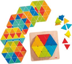 HABA Pattern Arranging Game - Magical Triangles