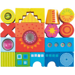 HABA Colourful Building Sensory Blocks