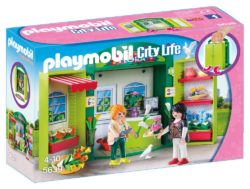 Playmobil 5639 - Flower Shop Play Box