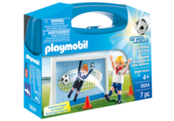 Playmobil 5654 - Football Shootout Carry Case