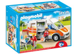 Playmobil 6685 - Ambulance with Lights and Sound