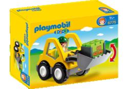 Playmobil 1.2.3 6775 - Excavator