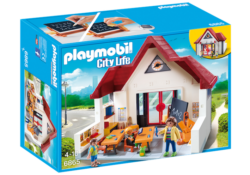 Playmobil 6866 - Schoolhouse with Moveable Clock Hands
