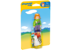 Playmobil 1.2.3 6975 - Woman with Cat