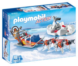 Playmobil 9057 - Husky Drawn Sled