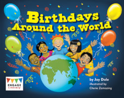 Birthdays Around the World (Engage Literacy Yellow)