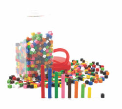 Interlocking & Linking Counting Cubes (1 cm each, Pack of 1000)