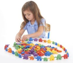 3D Coloured Connecting Counting Camels (Pack of 120)