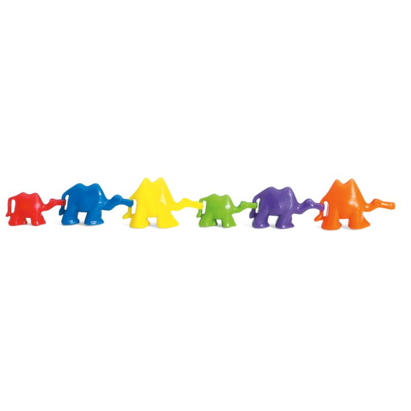 3D Coloured Connecting Counting Camels (Pack of 120 ...