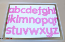 TickiT SiliShapes® Trace Alphabet Letters (Pack of 26)