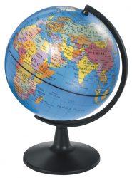 Desktop Political Globe - 13 cm
