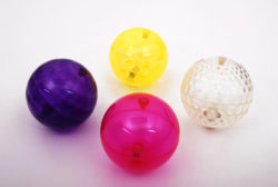 Large Texture Sensory Flashing Light up Ball Set (Pack of 4)
